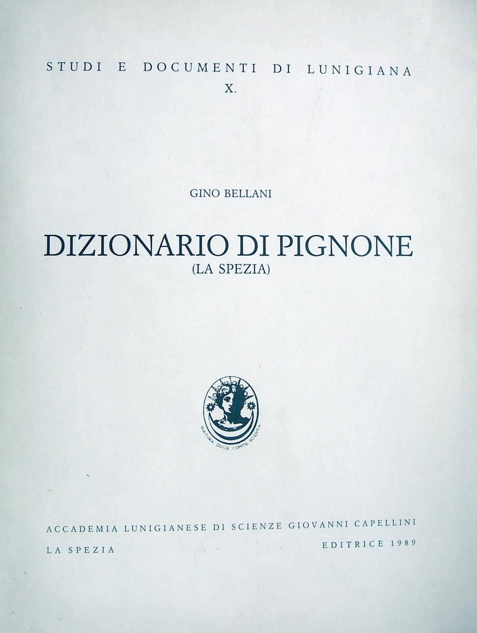 Dizionario di Pignone