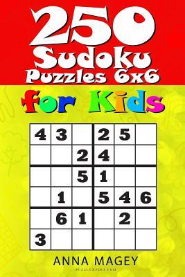 250 Sudoku Puzzles for Kids