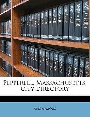 Pepperell, Massachusetts, City Directory