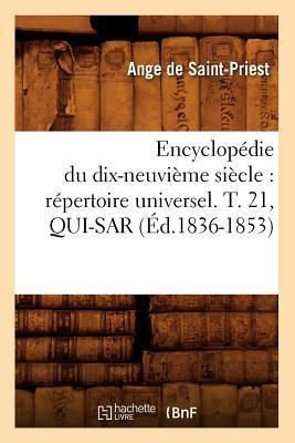 Encyclopédie du Dix-Neuvieme Siecle