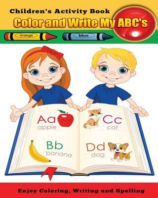 Color and Write My ABC's