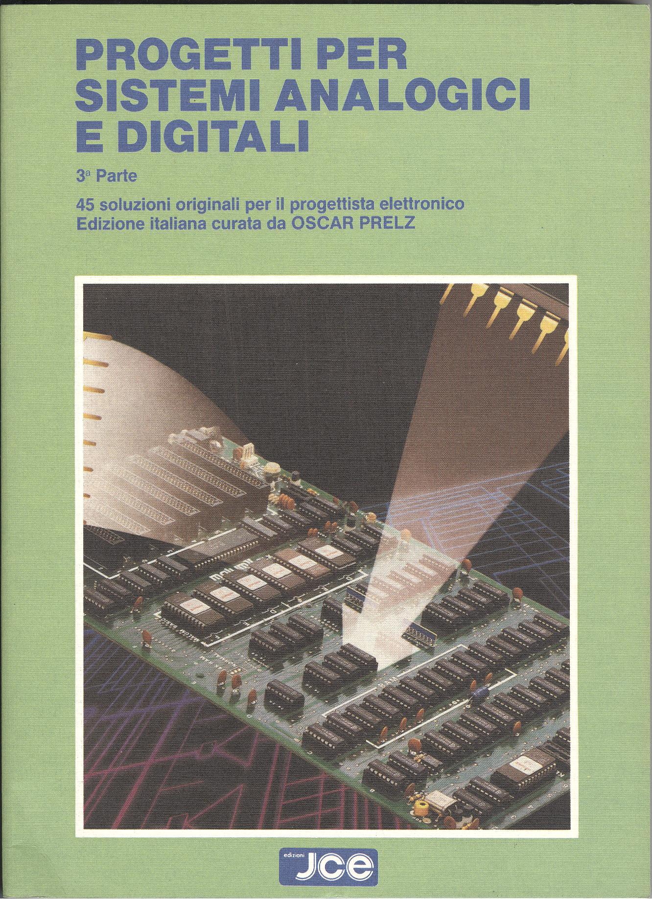 Progetti per sistemi analogici e digitali - 3.a parte