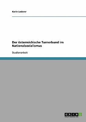 Der österreichische Turnerbund im Nationalsozialismus