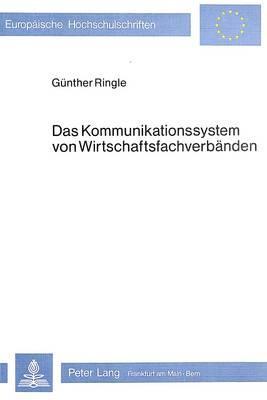 Das Kommunikationssystem von Wirtschaftsfachverbänden