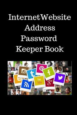 Internet  Website  Address Password  Keeper Book
