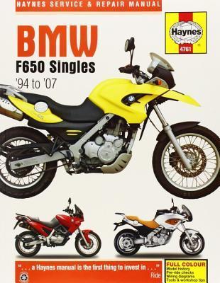 Bmw F650 Singles, '94-'07 Haynes Repair Manual