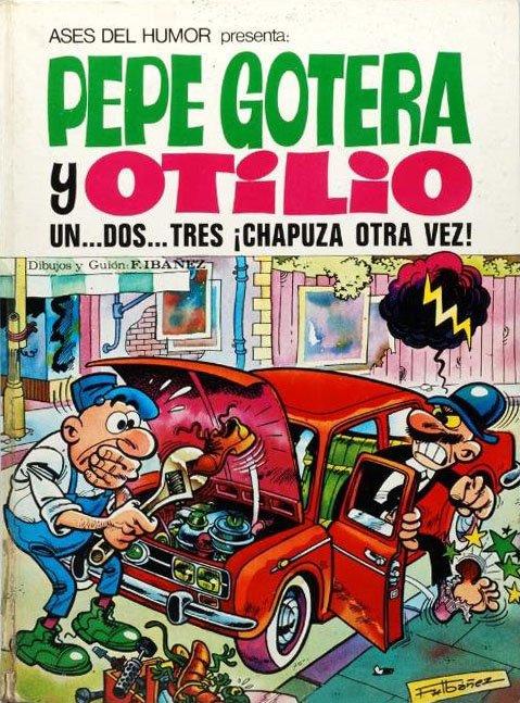 Pepe Gotera y Otilio: Un... dos... tres ¡Chapuza otra vez!