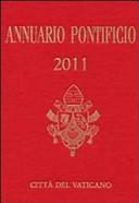 Annuario Pontificio per l'anno 2011