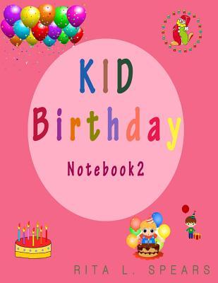 Kid Birthday Noteboo...