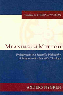 Meaning and Method