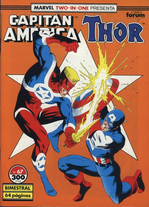 Marvel Two-In-One: Capitán América & Thor Vol.1 #67 (de 76)