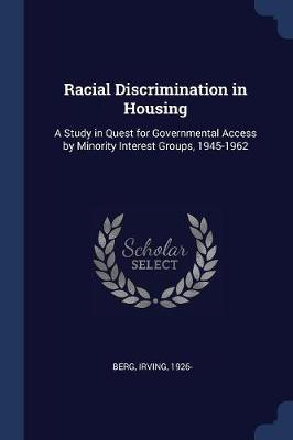 Racial Discrimination in Housing