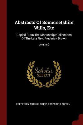 Abstracts of Somerse...