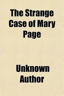 The Strange Case of Mary Page