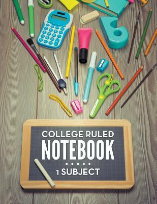 College Ruled Notebook - 1 Subject