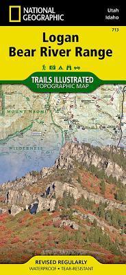 National Geographic Logan, Bear River Range Map