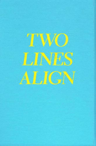 Two Lines Align