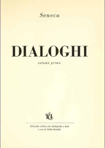 Dialoghi - volume 1