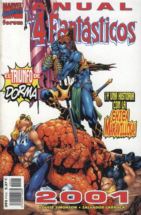 Los 4 Fantásticos Anual 2001