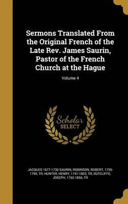 SERMONS TRANSLATED FROM THE OR