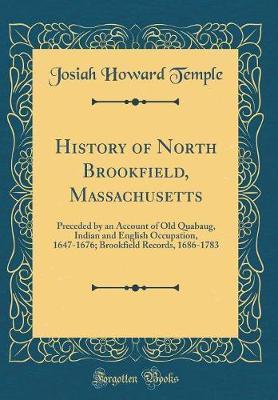 History of North Brookfield, Massachusetts