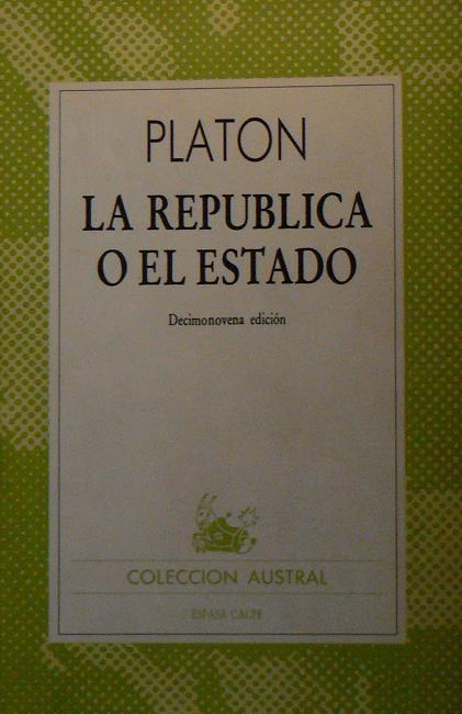 La Republica o el Estado