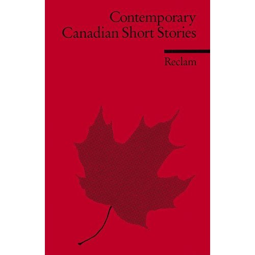 Contemporary Canadian Short Stories
