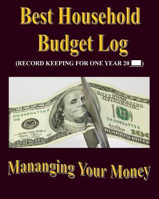 Best Household Budget Log