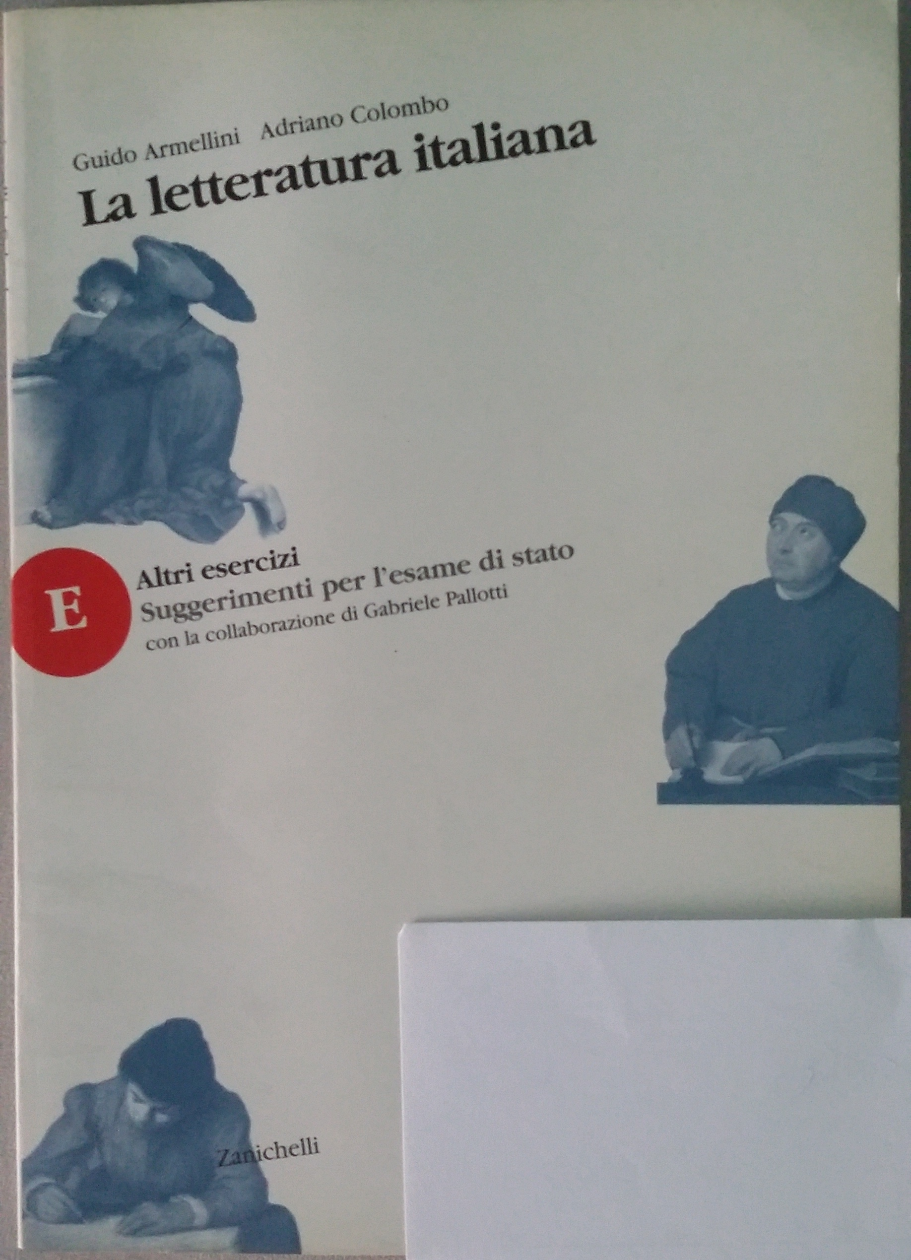 La letteratura italiana. Altri esercizi. Suggerimenti per l'esame di Stato. Per le Scuole superiori