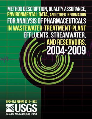 Method Description, Quality Assurance, Environmental Data, and Other Information for Analysis of Pharmaceuticals in Wastewater-treatment-plant Effuents, Streamwater, and Reservoirs, 2004-2009
