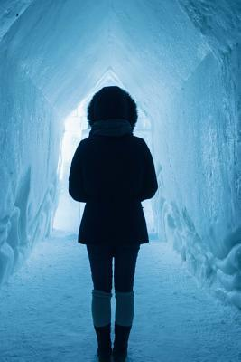 Walking Through an Ice Cave in Norway Journal