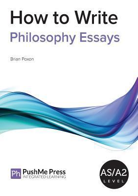 How to Write Philosophy Essays