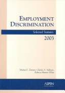 Employment Discrimination, 2003 Statutory Supplement