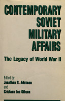 Contemporary Soviet Military Affairs