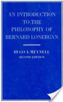 An Introduction to the Philosophy of Bernard Lonergan