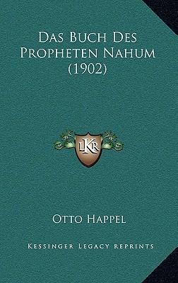 Das Buch Des Propheten Nahum (1902)