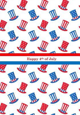 Happy 4th of July Independence Day Notebook