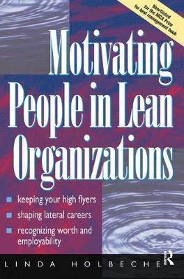 Motivating People in Lean Organizations