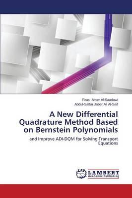 A New Differential Quadrature Method Based on Bernstein Polynomials