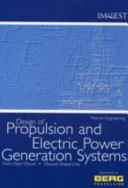 Design of Propulsion and Electric Power Generation Systems