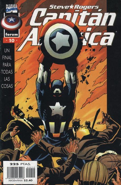 Capitán América Vol.3 #10 (de 11)