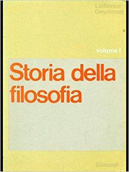 Storia della filosofia - Volume I