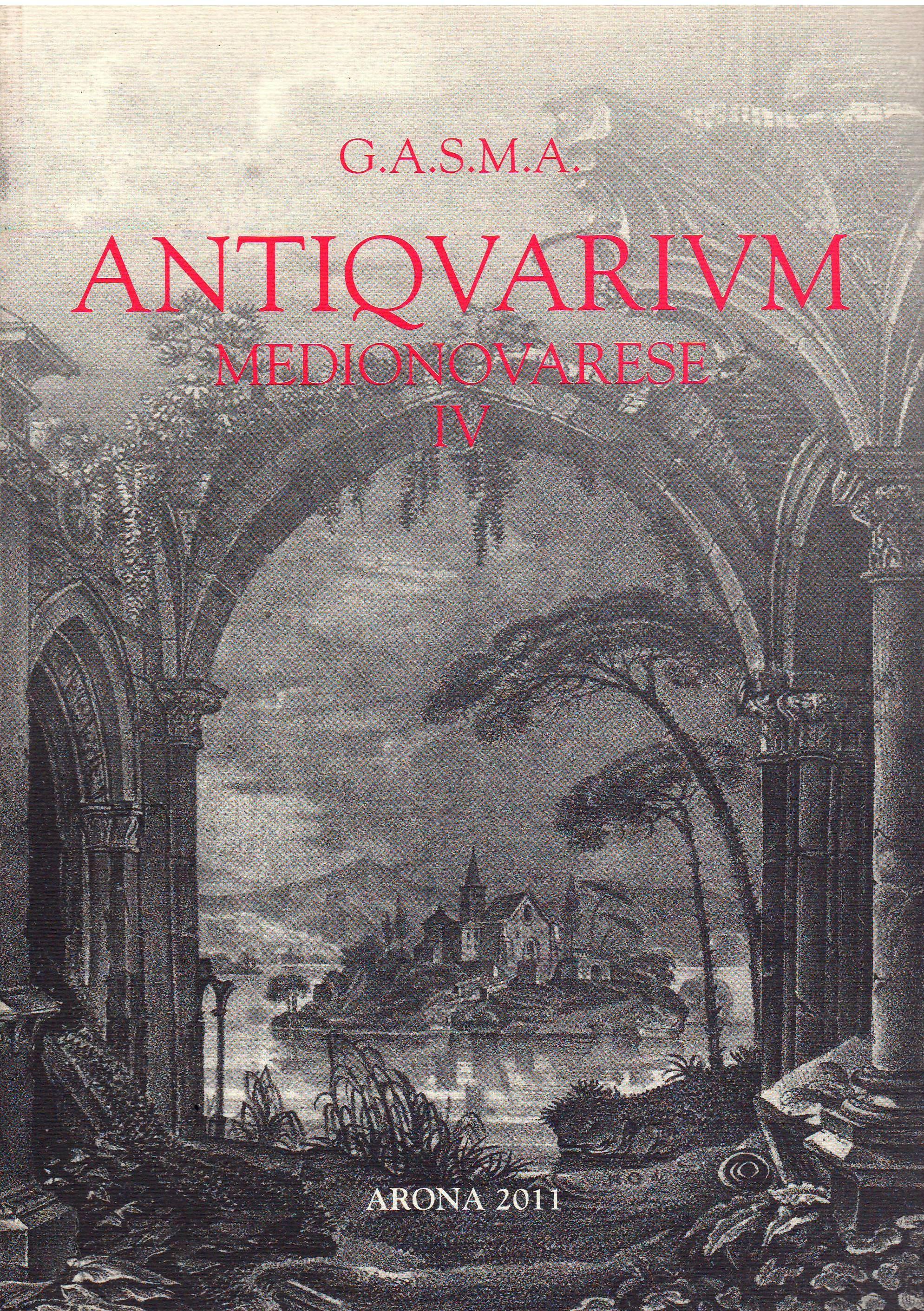 Antiquarium medionovarese vol. 4