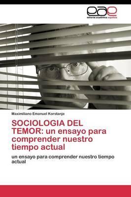 SOCIOLOGIA DEL TEMOR