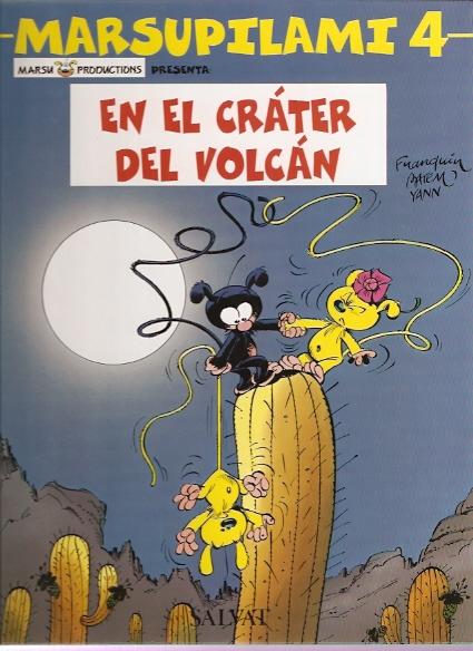 En el cráter del volcán