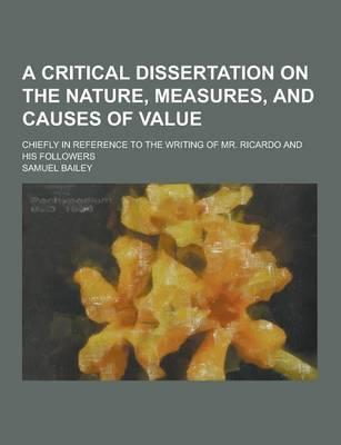 A Critical Dissertat...