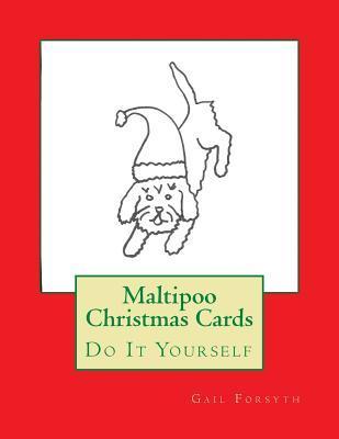 Maltipoo Christmas Cards