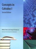 Concepts in Calculus I