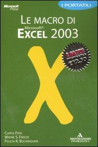 Le macro di Excel 2003