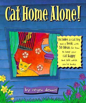 Cat Home Alone!